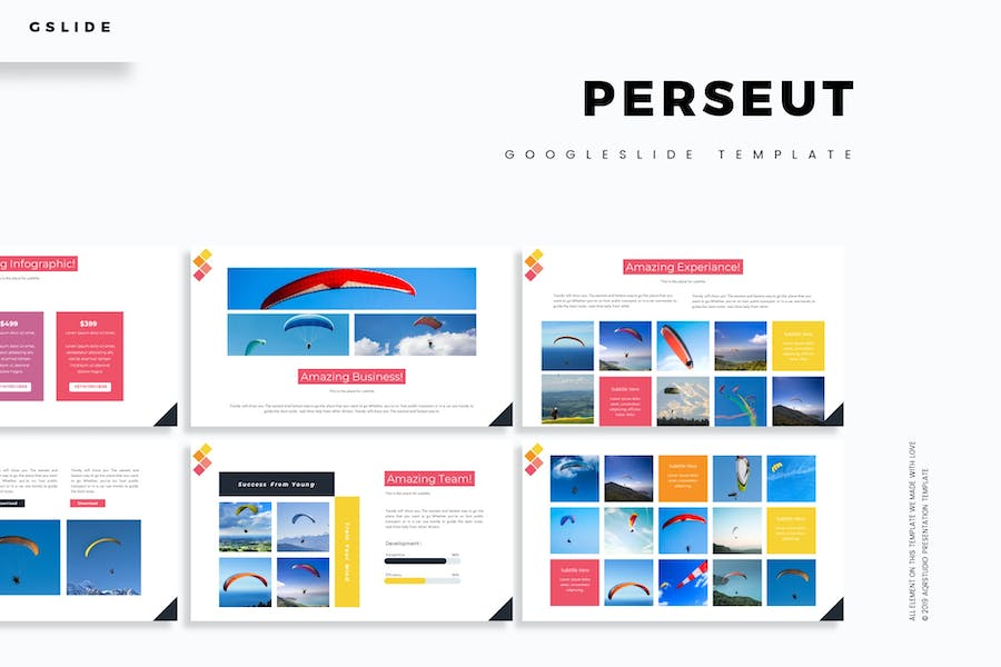 Perseut - Google Slides Template