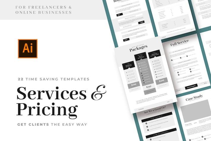 Thumbnail for Vorlagen für Service- und Preisleitfaden