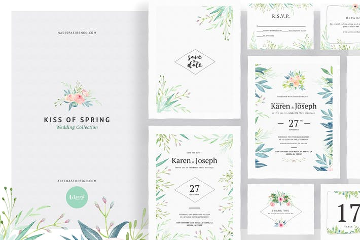 Thumbnail for Kiss Of Spring Wedding Collection