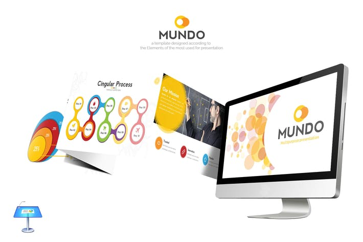 Thumbnail for Mundo Keynote Template