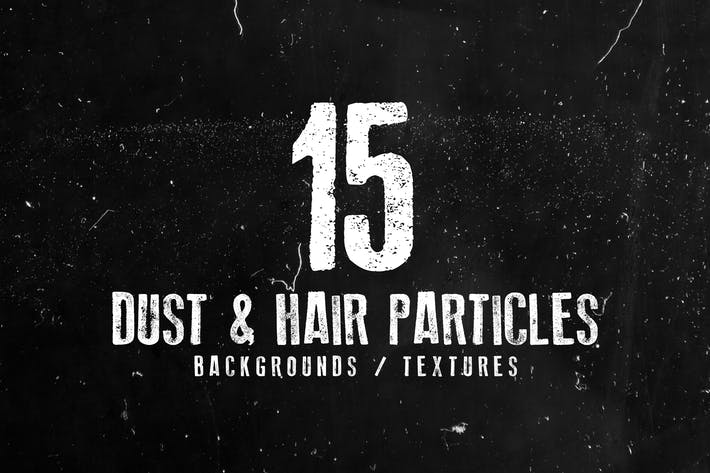 Thumbnail for 15 Dust and Hair Particles Backgrounds / Textures