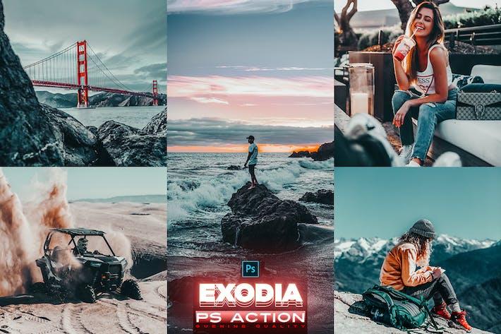 Thumbnail for EXODIA Photoshop Action