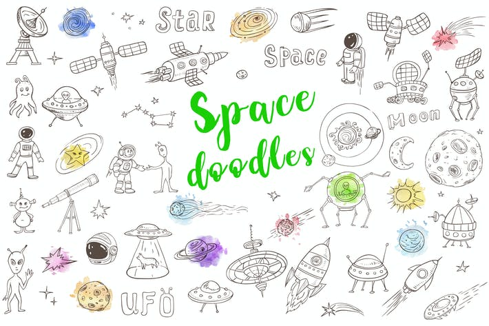 Thumbnail for Space Doodles