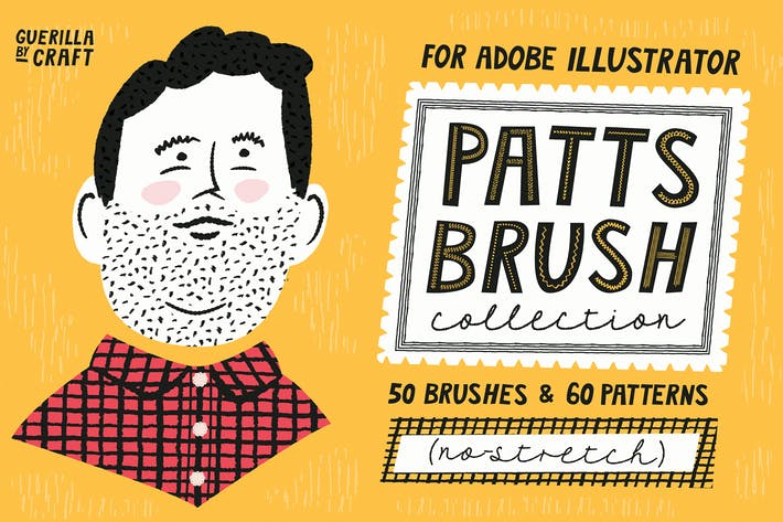 Cover Image For Patts Brush Collection for Adobe Illustrator