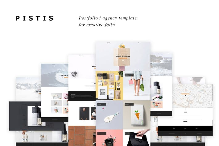 Thumbnail for Pistis - Creative Portfolio / Agency HTML Template