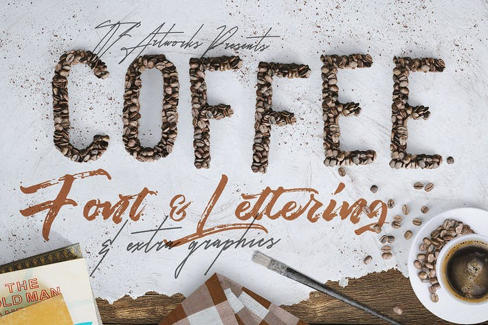 Thumbnail for Coffee Beans - Font & Lettering