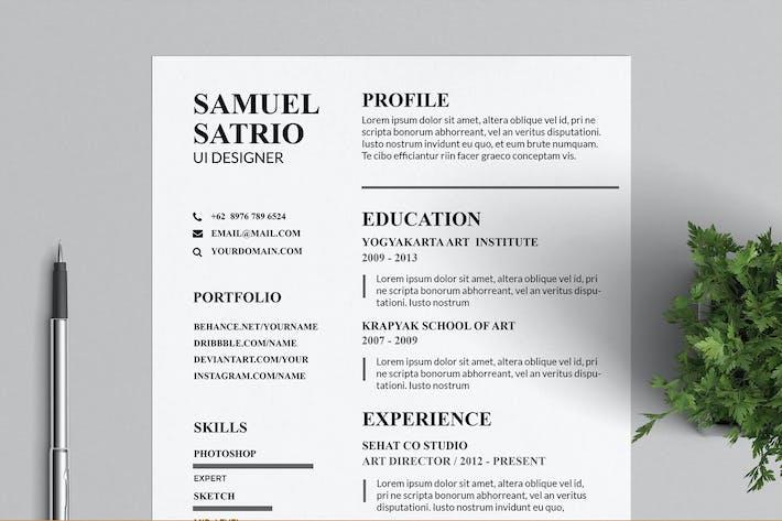 Pros Resume & CV Templates