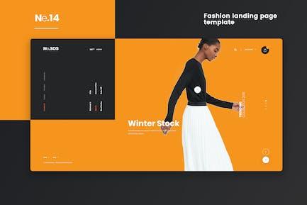 Ne14 - Fashion landing page template