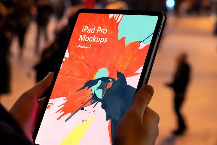 Thumbnail for iPad App Mock-Up Vol 02