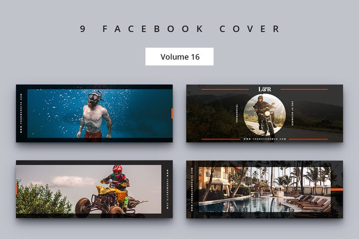 Thumbnail for Facebook Cover Vol. 16