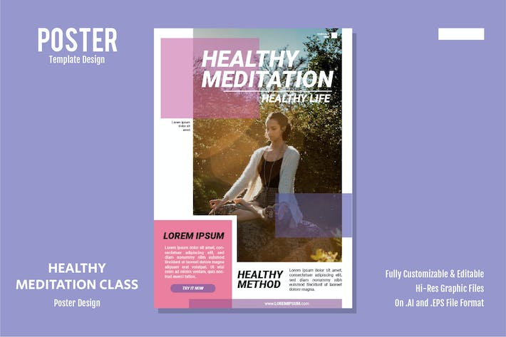 Thumbnail for Healthy Meditation Class