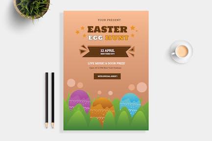 Easter Hunt Flyer