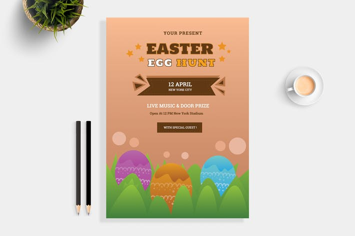 Cover Image For Easter Hunt Flyer