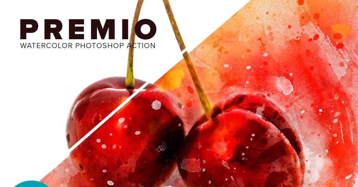 Download Premio Watercolor Photoshop Action by walllow