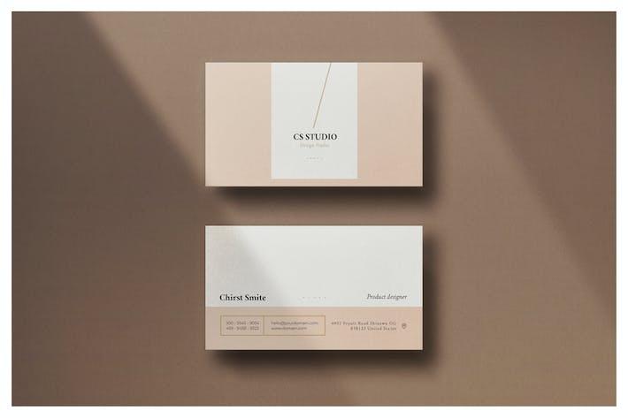 Thumbnail for Minimal Business Card - Vol.7
