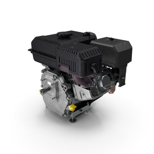Horizontal Shaft Gas Engine