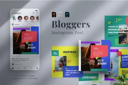 Bloggers Instagram post 02