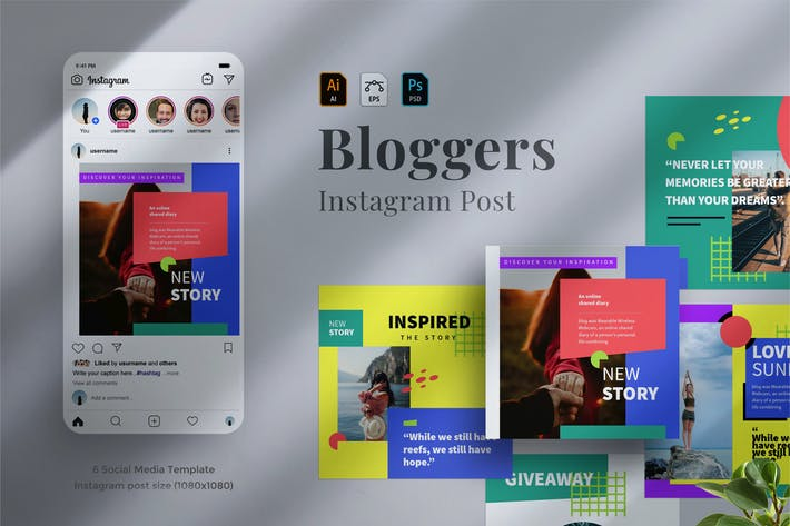 Thumbnail for Bloggers Instagram post 02