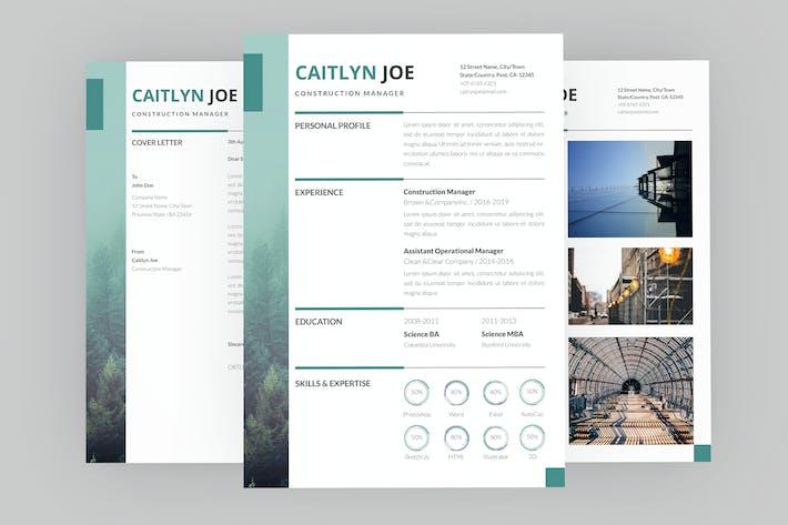 Thumbnail for Constructive Resume Designer