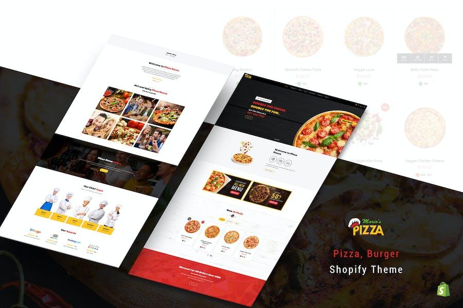 Marios Pizza | Pizza, Burger Restaurant Shopify
