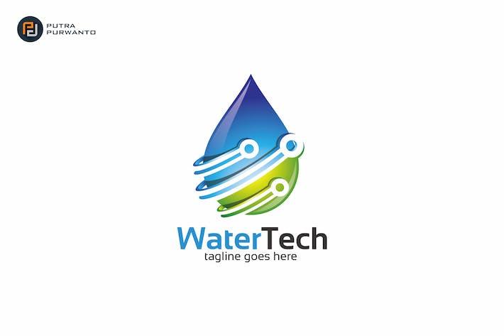 Thumbnail for Water Tech - Logo Template