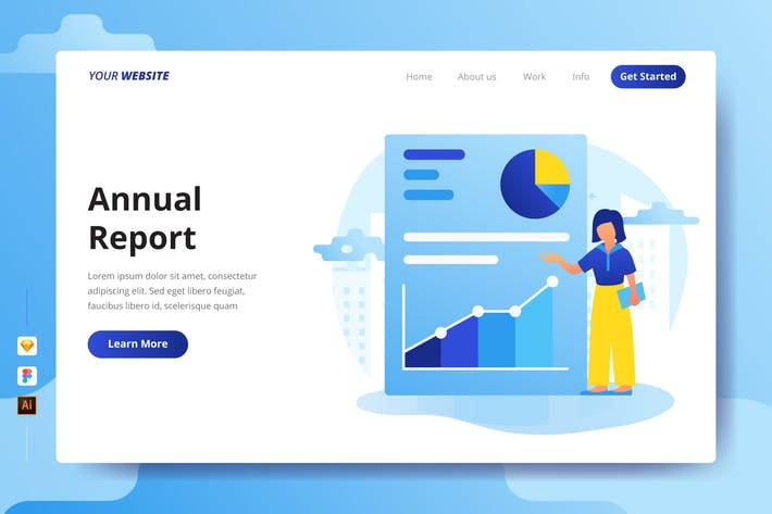 Thumbnail for Annual Report - Landing Page