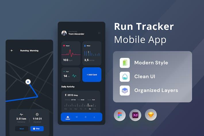 Run Tracker Mobile App