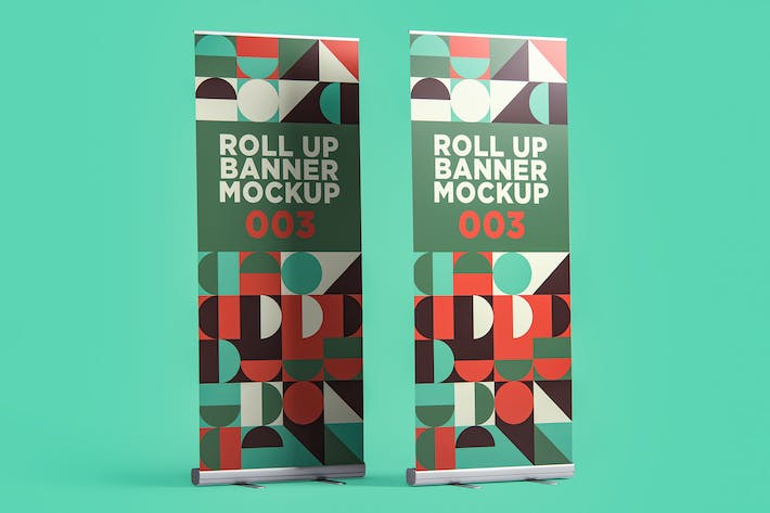 Thumbnail for Roll Up Banner Mockup 003