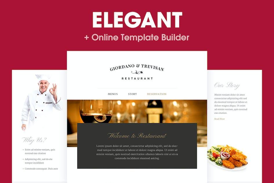 Download Elegant - Restaurant Email Template by HyperPix