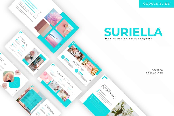 Thumbnail for Suriella - Google Slides Template