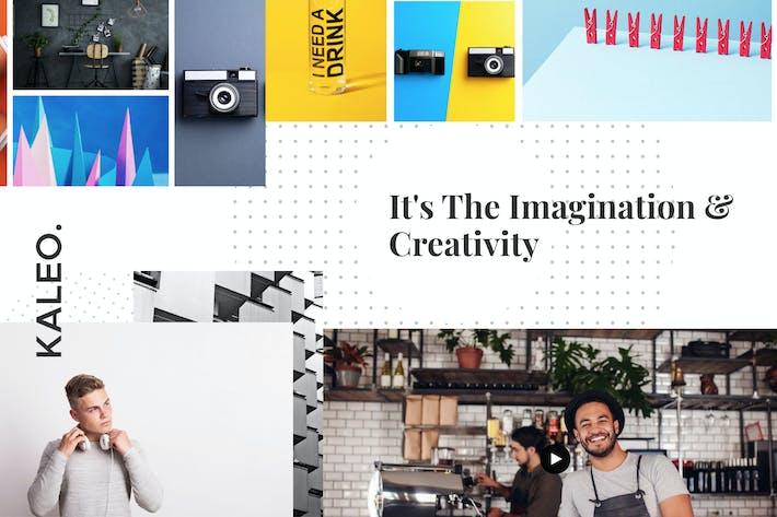 Thumbnail for Kaleo - Kreatives Portfolio WordPress Thema