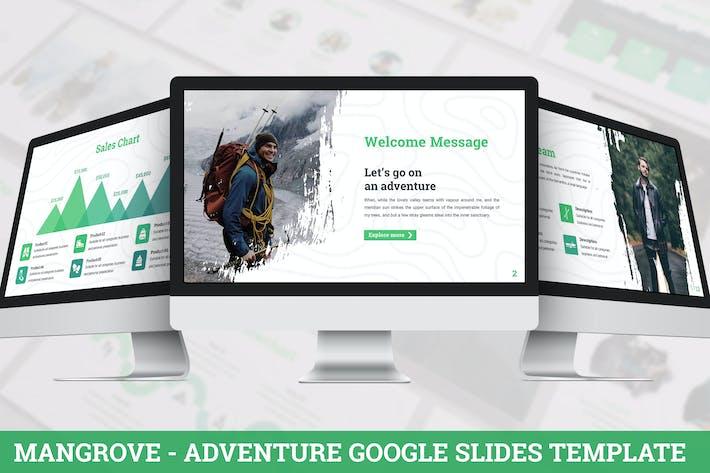 Mangrove - Приключения Google Слайды Шаблон