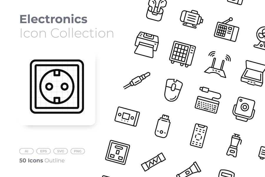 Electronics Outline Icon