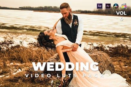Wedding Pack Video LUTs Vol.4