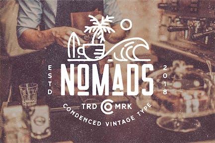 Nomads - The Farmer Original Typeface