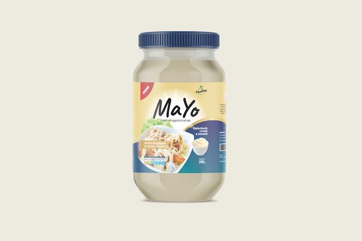 Thumbnail for Conception d'étiquettes Mayonnaise - Évolutif