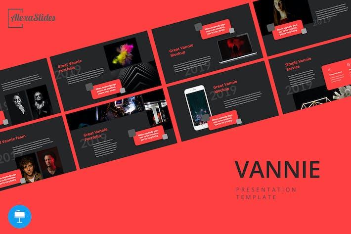 Thumbnail for Vannie - Creative Keynote Template
