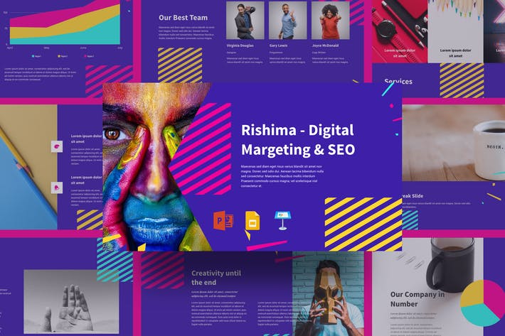 Thumbnail for Rishima - Digital Marketing & SEO Presentation