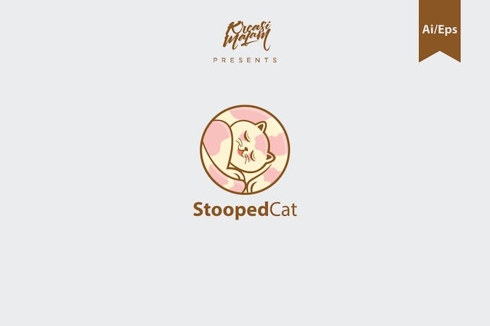 Thumbnail for StoopedCat Logo Template