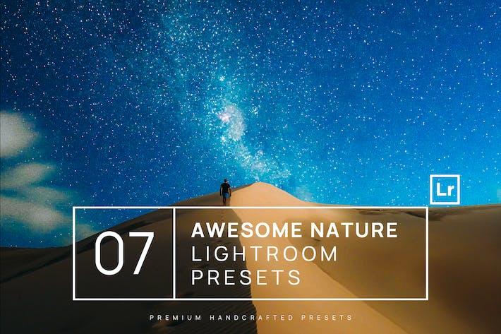 Thumbnail for 7 Ajustes preestablecidos de Lightroom la naturaleza impresionante + móvil