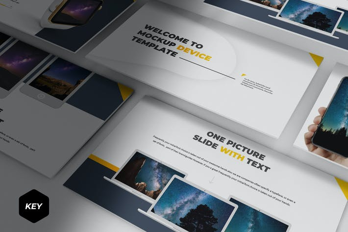 Mockup Device - Keynote Template