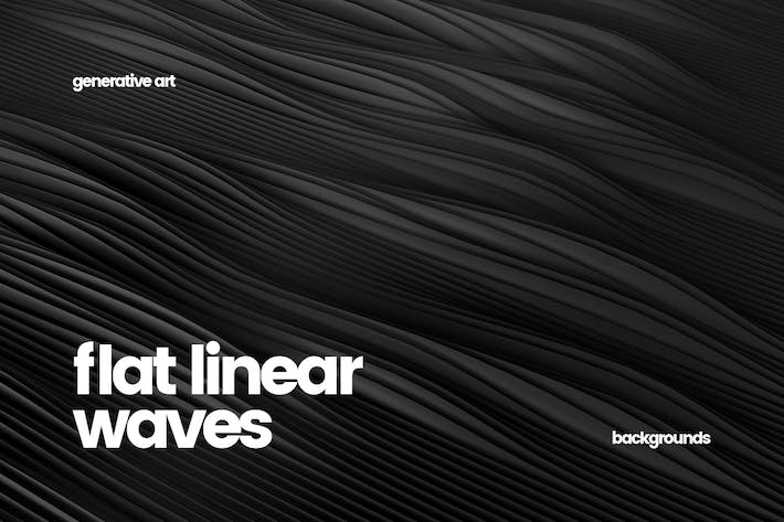 Thumbnail for Abstract Flat Linear Waves Backgrounds