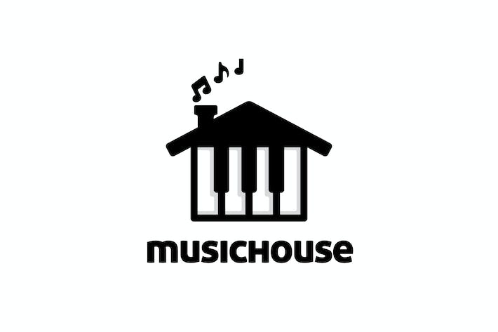 Thumbnail for Piano and House Logo