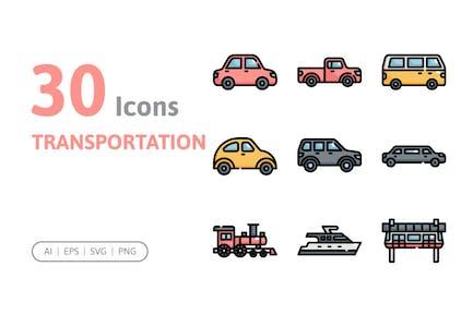 30 TransportsIcons