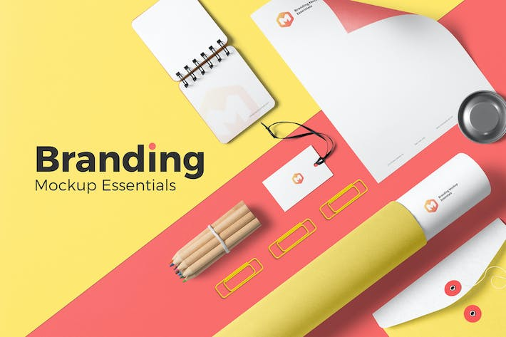 Thumbnail for Branding Mockup Essentials Vol. 3