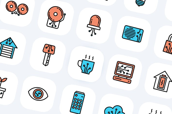 Thumbnail for 40 Smart Home-Icons