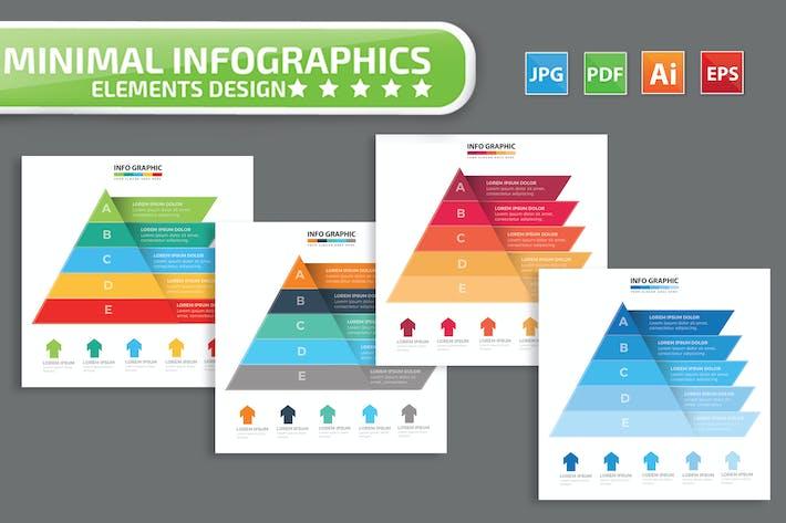 Pyramid infographic Design