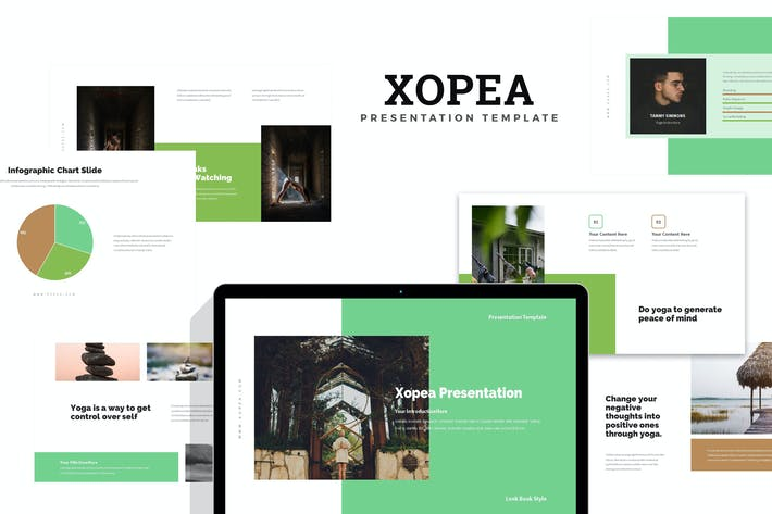 Thumbnail for Xopea : Yoga and Meditation Google Slides
