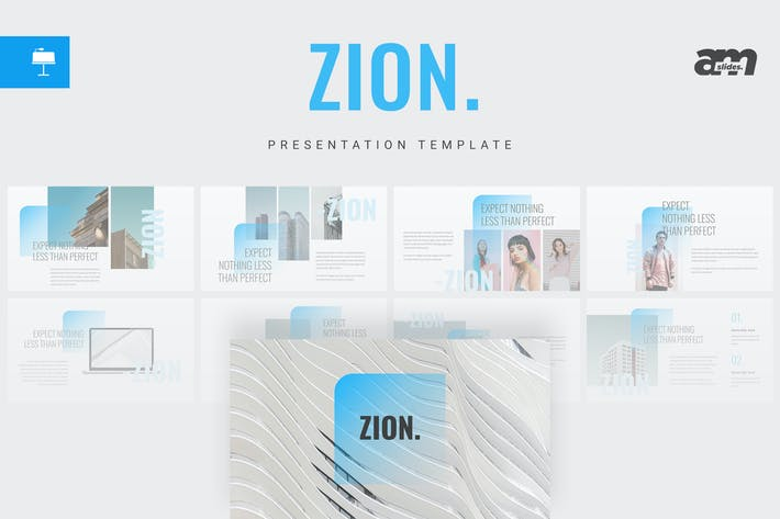 Thumbnail for Zion - Keynote Template