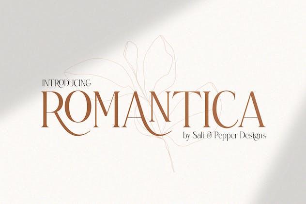Romantica Serif Font
